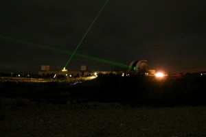 Tir laser à Calern